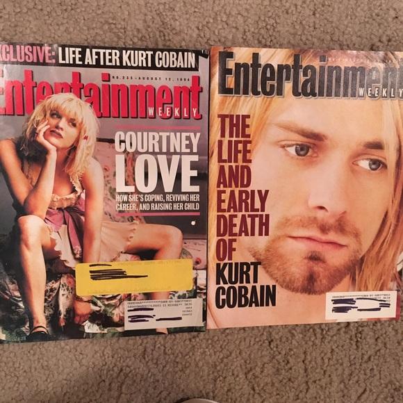 Kurt and Courtney 1994 Entertainment Weekly